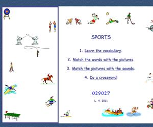 Sports vocabulary (letshavefunwithenglish)