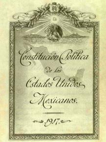 La promulgación de la Constitución Política de los Estados Unidos Mexicanos