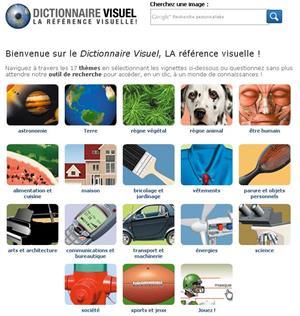 Le Dictionnaire Visuel (Diccionario visual en francés/inglés/español)