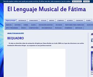 EL LENGUAJE MUSICAL DE FÁTIMA