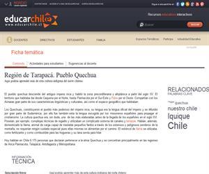 1era Región Quechua (Educarchile)
