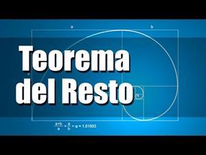 Teorema del Resto. Ejercicios resueltos.