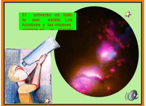 El universo y el Sistema Solar (Cidead)