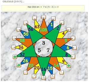 Cálculo [3, 5, 7,..] juega y practica operaciones matemáticas básicas