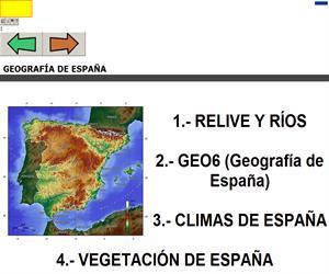C.Sociales - Unidad01 / LOS PAISAJES DE ESPAÑA