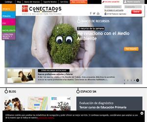 SMconectados - contenidos y servicios para profesores