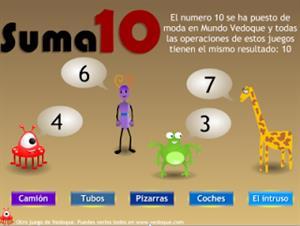 El juego que suma 10 (vedoque.com)