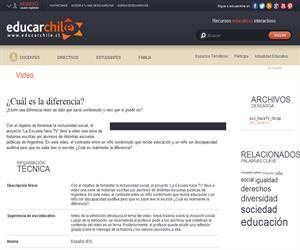 Argentina. Hace TV 4 (Educarchile)