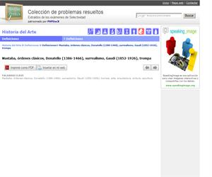 Mastaba, órdenes clásicos, Donatello (1386-1466), surrealismo, Gaudí (1852-1926), trompa. (Selectividad.tv)