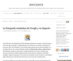 La búsqueda semántica de Google y su impacto