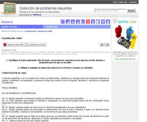 Constitución 1869. (Selectividad.tv)