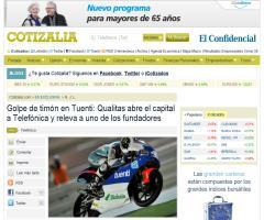 Golpe de timón en Tuenti: Qualitas abre el capital a Telefónica y releva a uno de los fundadores (Cotizalia)