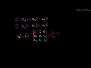Producto vectorial dadas las componentes
