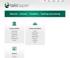 Talis Aspire. Soluciones y servicios de gestión de recursos educativos para universidades, alumnos y profesores