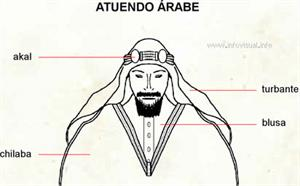 Atuendo árabe (Diccionario visual)