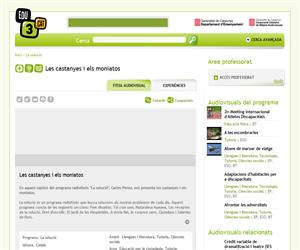 Castanyes i els moniatos (Edu3.cat)