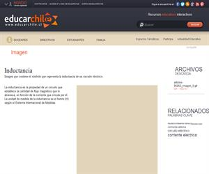 Inductancia (Educarchile)