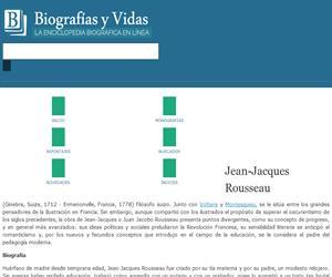Jean-Jacques Rousseau (biografía y vida)