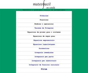 Matemàtiques en català