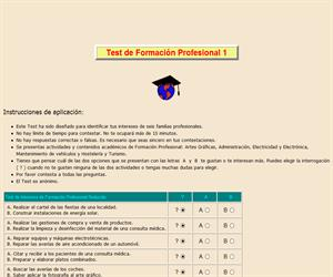 Test de Formación Profesional (I)
