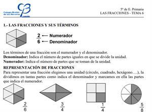 Las fracciones (ClarionWeb)