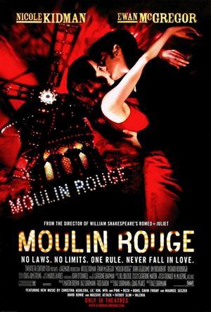 Moulin Rouge! de Baz Luhrmann (2001)