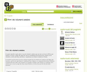 Prim i els voluntaris catalans (Edu3.cat)