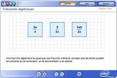 Fracciones algebraicas (PerúEduca)