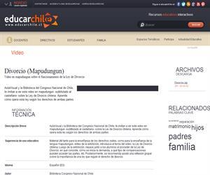 Divorcio -Mapudungun) (Educarchile)