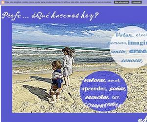 Profe…¿Qué hacemos hoy? (Blog Educativo de Educación Infantil)