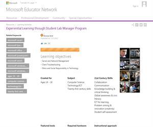 Aprendizaje experiencial a través del programa Student Lab Manager