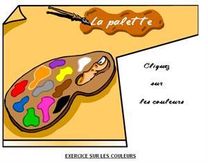 Les couleurs: los colores en francés.