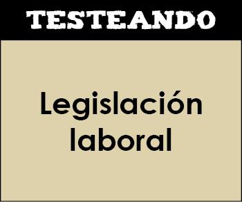 Legislación laboral. 2º Bachillerato - Economía de la empresa (Testeando)