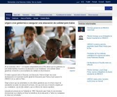 La ONU urge a los gobiernos a asegurar una educación de calidad para todos