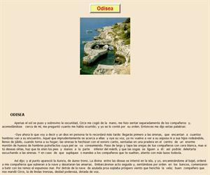 Odisea, lectura comprensiva interactiva