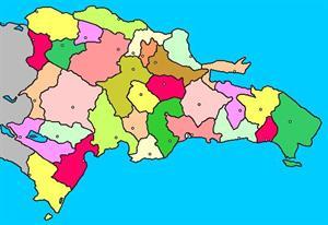 Mapa interactivo de la República Dominicana: provincias y capitales (luventicus.org)