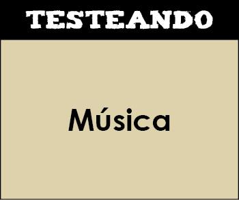 Música - Asignatura completa. 4º ESO (Testeando)
