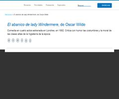 Oscar Wilde: El abanico de lady Windermere