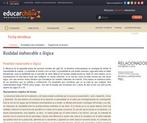 Realidad inabarcable e ilógica (Educarchile)