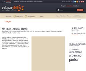 Sin título (Antonio Berni) (Educarchile)