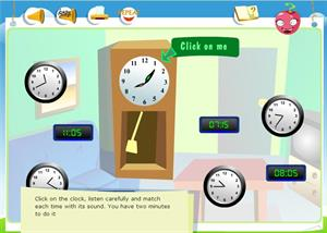 The time: Race Against Time (Everyday Activities II): listening para 6º de Primaria