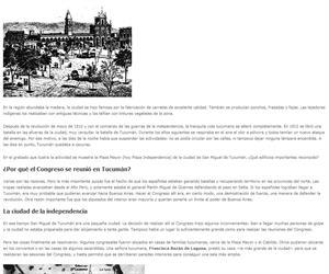 Tucumán en 1816
