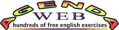 Agenda web, cientos de ejercicios de Inglés interactivos