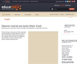 Memoria visual de una nación (Mario Toral) (Educarchile)