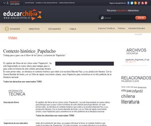 Contexto histórico_Papelucho (Educarchile)
