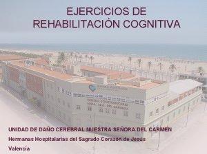 Actividades para la rehabilitación cognitiva
