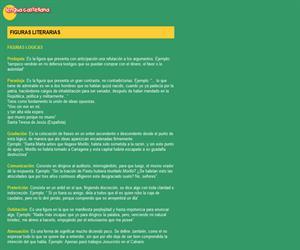 Figuras literarias. Lengua Castellana