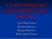 La diversidad geográfica de España