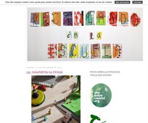 Blog de creación de materiales utilizando elementos reciclados.