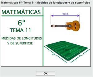 Medidas de longitud y de superficie con Thatquiz